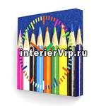 Настенные часы Цветные карандаши PB-005-35