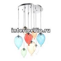 Подвесная люстра Ideal Lux Clown SP8 Color