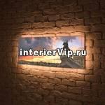 Лайтбокс панорамный Медный всадник 45x135-p031