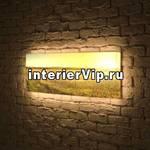 Лайтбокс панорамный Прованс 45x135-p017