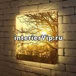 Лайтбокс Осенний туман 45x45-090
