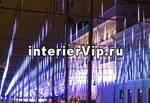 Занавес светодиодный уличный Сосульки 300см синий (11125) ULD-E3005-300/DTK BLUE IP44 ICICLE