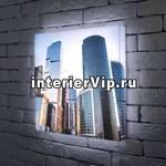 Лайтбокс Москва-Сити 45x45-008