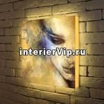 Лайтбокс Женский портрет 45x45-012