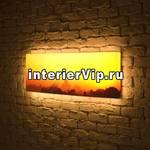 Лайтбокс панорамный Рассвет 35x105-p021