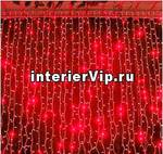 Занавес светодиодный уличный 300см красный (UL-00001357) ULD-C2030-240/TWK RED IP67