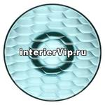 Kartell 4752/AZ - Вешалка настенная Jelly (голубая) диаметр 19см