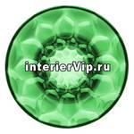 Kartell 4753/VE - Вешалка настенная Jelly (зеленая) диаметр 13см