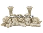 Подсвечник керамический Пятеро ангелочков