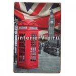 Табличка London telephone booth