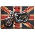 Табличка Best of British
