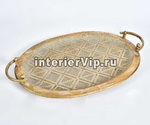 Декоративная тарелка Gold Line