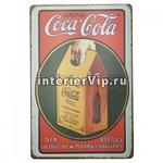 Табличка Coca-cola