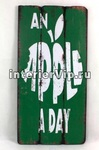 Табличка на стену Apple