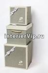 Набор подарочных коробок Sweet с джутовыми ручками