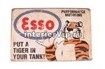 Табличка Esso