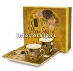 Комплект из двух чашек с блюдцами Gustav Klimt