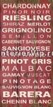 Интерьерная табличка Wine