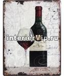 Табличка Бокал вина