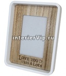 Фоторамка деревянная Love You Lots and Lots