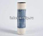 Ваза-цилиндр Blue Marine керамическая