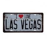 Табличка I love Las-Vegas