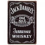 Табличка Jack Daniel's