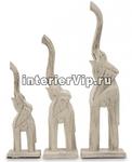 Комплект деревянных фигурок Три слона