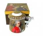 Кружка заварочная Mozart с крышкой и ситечком