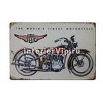 Табличка Harley-Davidson