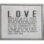Постер декоративный Love Grows