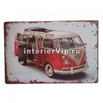 Табличка Винтажный автобус