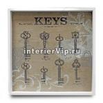 Ключница подвесная Keys квадратная