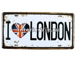 Табличка I love London