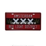 Табличка Amsterdam