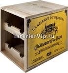 Подставка для винных бутылок Ящик