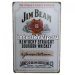 Табличка Jim Beam
