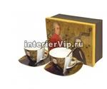 Чайный комплект Mozart с блюдцами и ложками