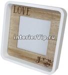 Фоторамка деревянная Love You