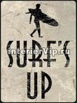 Табличка Surf's Up